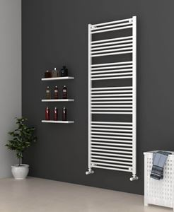 Picture of White Bathroom Towel Rail 700mm Wide 1750mm High