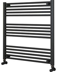 Picture of Anthracite Towel Radiator 800mm Wide 800mm High