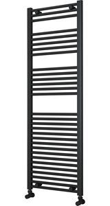 Picture of Anthracite Towel Radiator 500mm Wide 1500mm High