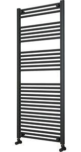 Picture of Anthracite Towel Radiator 600mm Wide 1500mm High