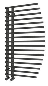 Picture of BESLANO Anthracite Towel Radiator - 550mm Wide 1000mm High
