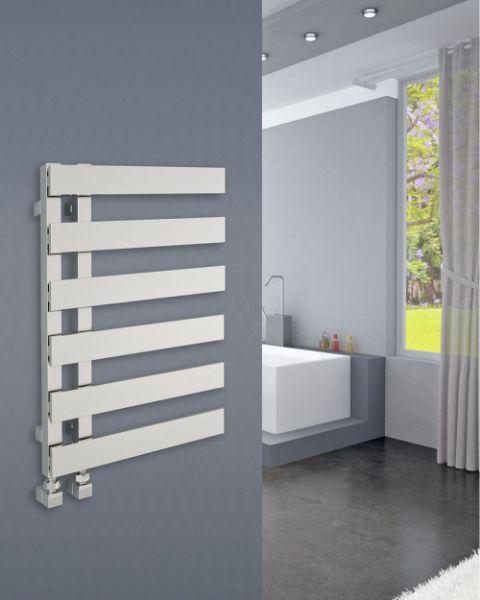 Picture of EMRENO Chrome Designer Towel Radiator - 500mm Wide 800mm High