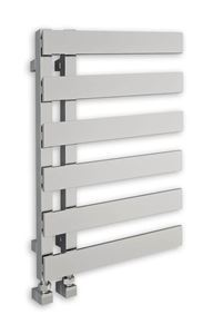 Picture of EMRENO Chrome Designer Towel Radiator - 500mm Wide 800mm High