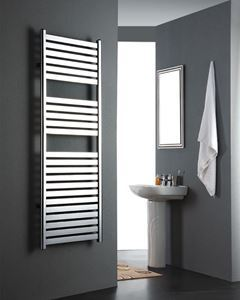 Picture of MEOT Chrome Designer Towel Radiator - 500mm Wide 800mm High