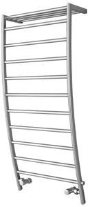 Picture of POLIFEMO Designer Towel Radiator - 600mm Wide 1200mm High in Chrome