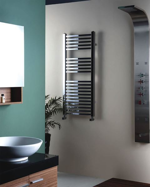 Picture of SAHLA Square Tube Designer Towel Radiator - 500mm Wide 1600mm High