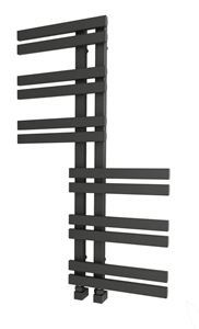 Picture of ZHIA Designer Anthracite Towel Radiator 600mm Wide 1000mm High