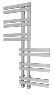 Picture of ZHIA Designer Chrome Towel Radiator - 600mm Wide 1000mm High