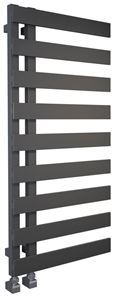 Picture of EMRENO Anthracite Designer Towel Radiator - 500mm Wide 800mm High
