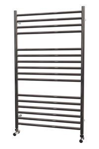 Picture of 600mm Wide 1000mm High FLAT Stainless Steel Towel Radiator