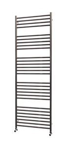 Picture of 600mm Wide 1800mm High Flat Stainless Steel Towel Radiator
