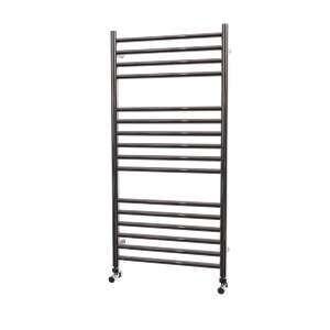 Picture of 500mm Wide 1000mm High FLAT Stainless Steel Towel Radiator