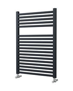 Picture of Anthracite Towel Radiator 500mm Wide 842mm High