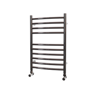 Picture of 400mm Wide 600mm High Stainless Steel CURVED Towel Rail