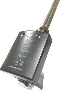 Thermostatic Heating Element with 2-Hour Timer 600W - Anthracite