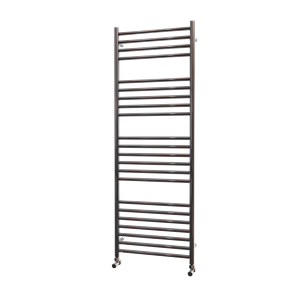 Picture of 500mm Wide 1400mm High  FLAT Stainless Steel Towel Radiator