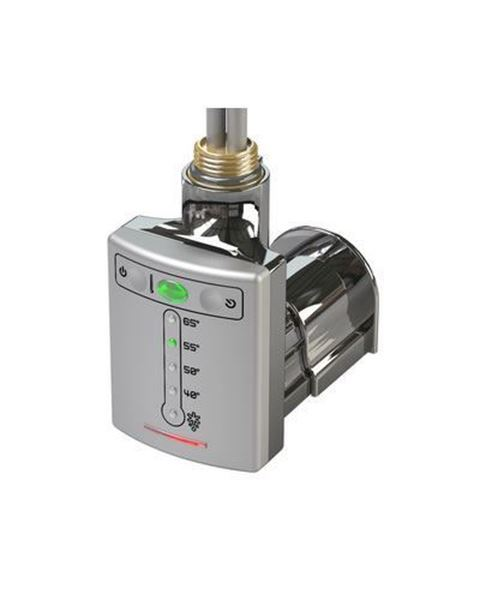 Thermostatic Heating Element with 2-Hour Timer 600W - Chrome