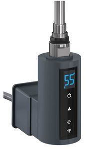 Thermostatic Heating Element with WiFi & 2/4hrs Booster - 300Watt Anthracite